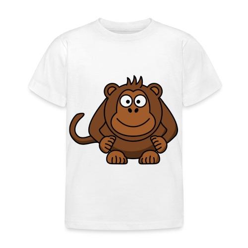 Monkey t-shirt - Børne-T-shirt