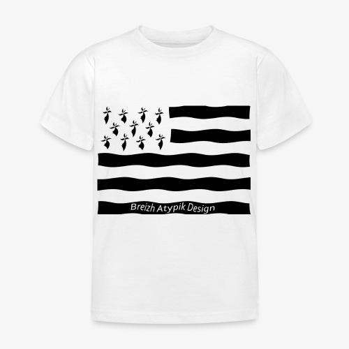 Gwenn ha Du-Noir fond transparent - T-shirt Enfant