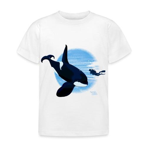 Orca en dappere duiker - T-shirt Enfant