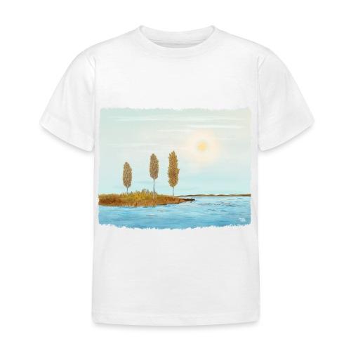 Herfst kleuren in Lapland - T-shirt Enfant