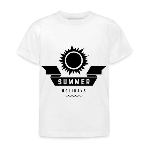 Summer holidays - Lasten t-paita