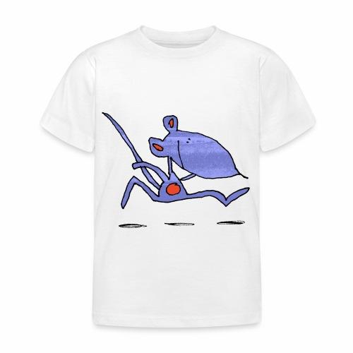 muis op de loop - Kinderen T-shirt