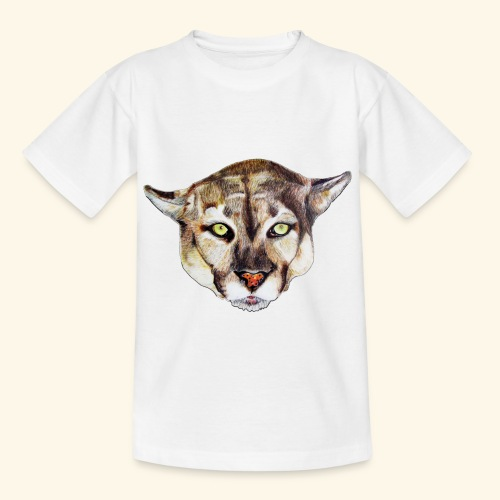 Artistic wild animal - Kids' T-Shirt