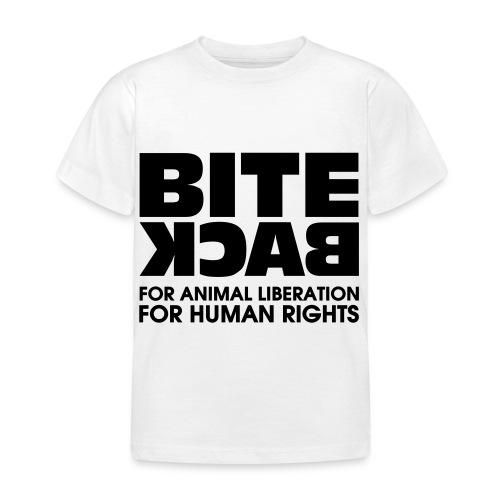 Bite Back logo - Kinderen T-shirt