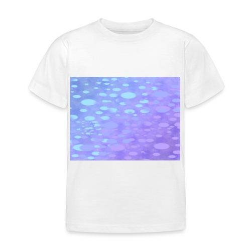 wassertropfen in der regenbogenpfütze - Kinder T-Shirt