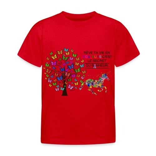 Licorne vie en couleurs - T-shirt Enfant