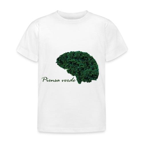 Piensa verde - Camiseta niño