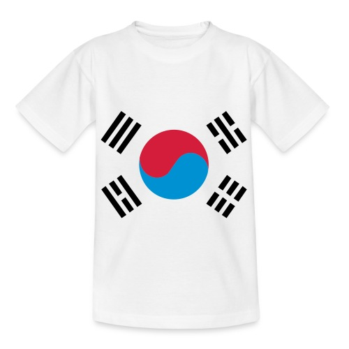 South Korea - Kinderen T-shirt