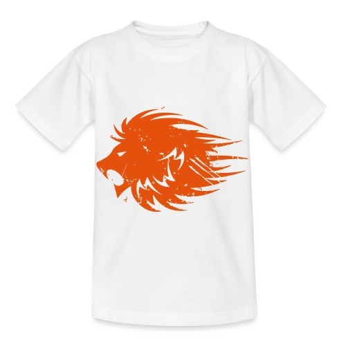 MWB Print Lion Orange - Kids' T-Shirt