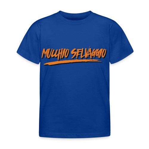 Mucchio Selvaggio 2016 Dirty Orange - Maglietta per bambini