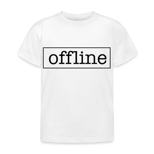 Officially offline - Kinderen T-shirt