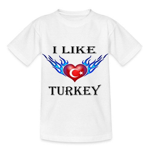 I Like Turkey - Kinder T-Shirt