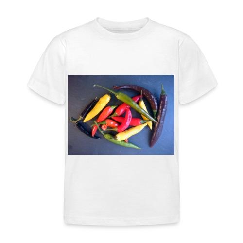 Chili bunt - Kinder T-Shirt