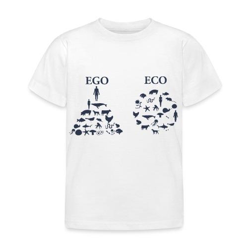 Ego VS Eco - Maglietta per bambini