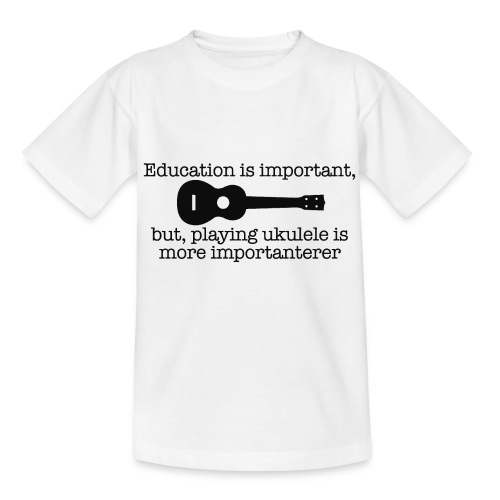 Important Ukulele - Kids' T-Shirt