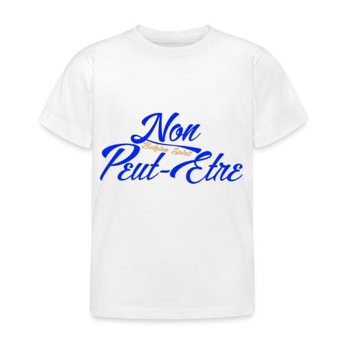 BELGIAN-NONPEUTETRE - T-shirt Enfant