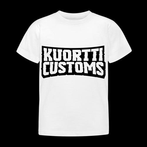 kuortti_customs_logo_main - Lasten t-paita