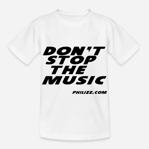 dontstopthemusic - Kids' T-Shirt