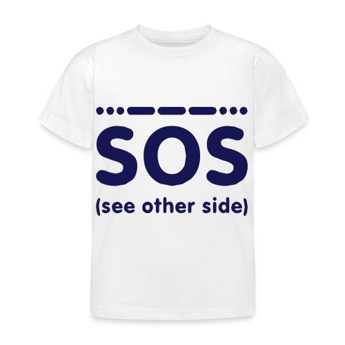 SOS - Kinderen T-shirt