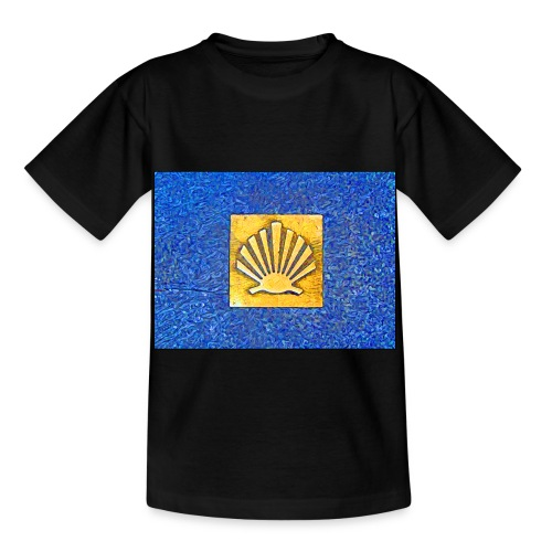 Scallop Shell Camino de Santiago - Kids' T-Shirt