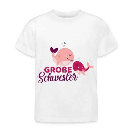 Wale - große Schwester - Kinder T-Shirt