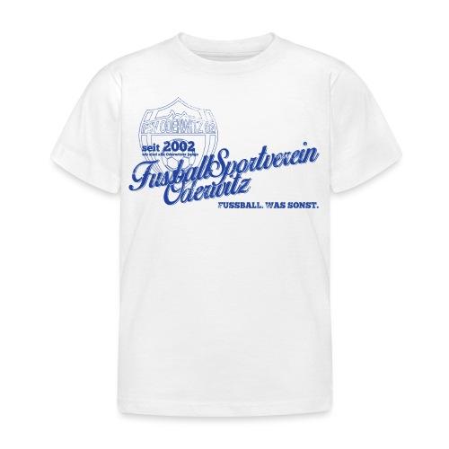 Shirt V2 Design blau Rev1 gif - Kinder T-Shirt