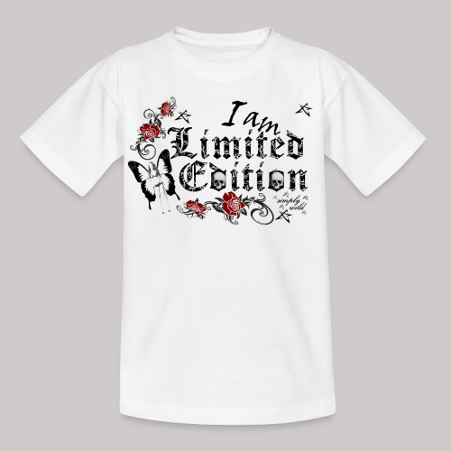 simply wild limited Edition on white - Kinder T-Shirt