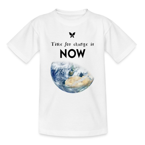 Time for change is now. (Earth Edition) - Kinder T-Shirt