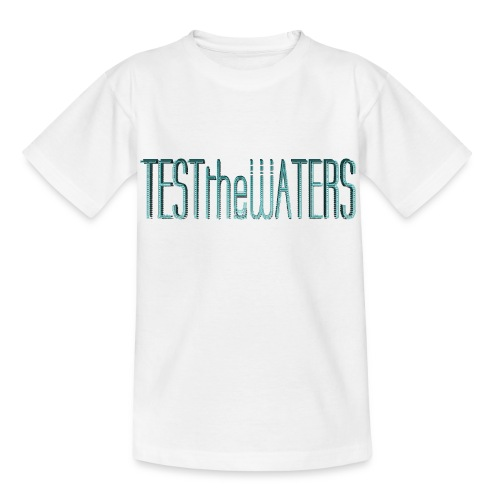 TESTtheWATERS BETA BLUE - Kids' T-Shirt