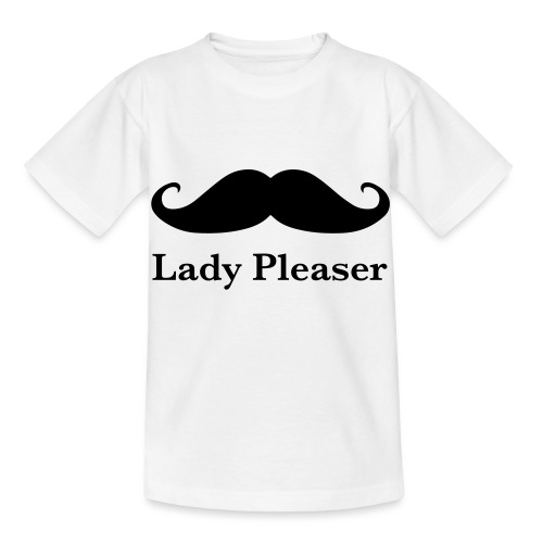 Lady Pleaser T-Shirt in Green - Kids' T-Shirt