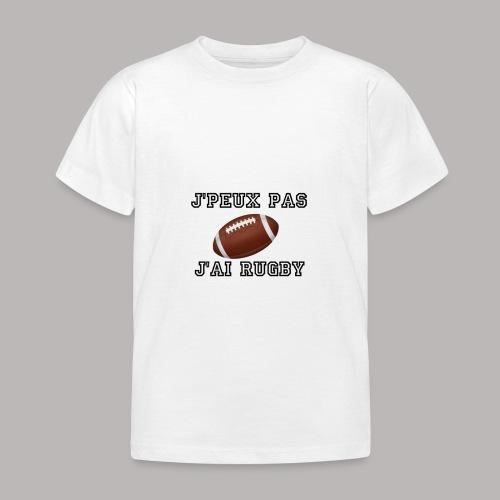 rugby - T-shirt Enfant