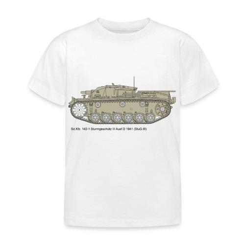 Stug III Ausf D. - Kinder T-Shirt