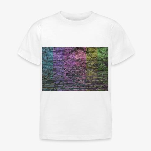 Regenbogenwand - Kinder T-Shirt