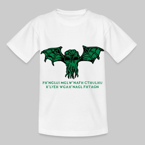 Cthulhu Wings Fhtagn - Kinder T-Shirt