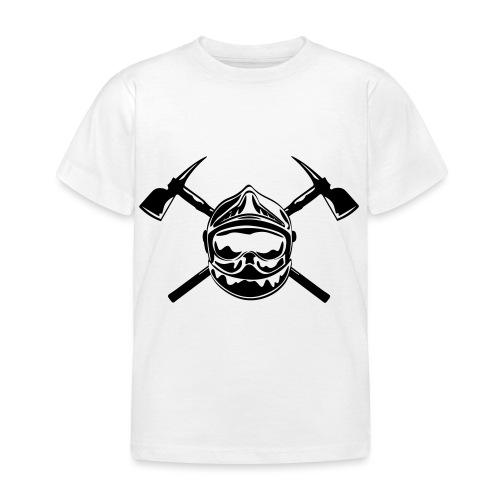 casque_pompier_2 haches - T-shirt Enfant
