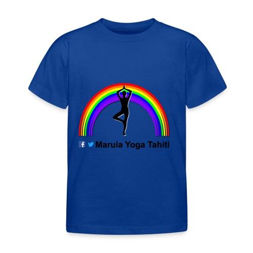 Logo de Maruia Yoga Tahiti - T-shirt Enfant