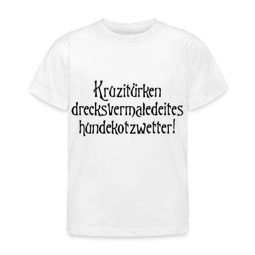 hundekotzwetter - Kinder T-Shirt