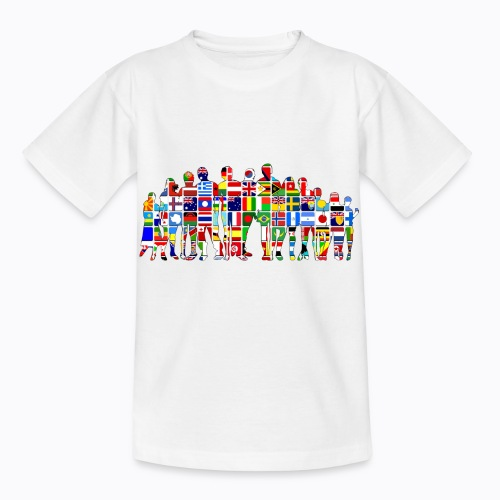 all the world - Kids' T-Shirt