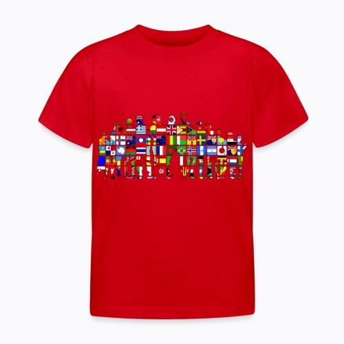all the world - Kids' T-Shirt