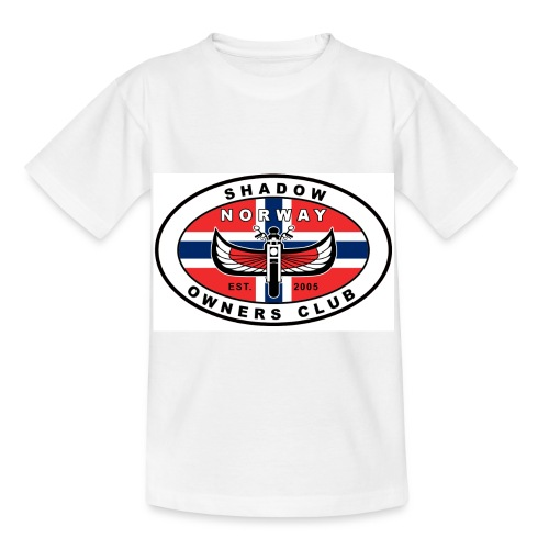 SHOC Norway Patch jpg - T-skjorte for barn