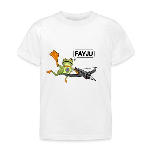 Amazing Frog Crossbow - Kids' T-Shirt
