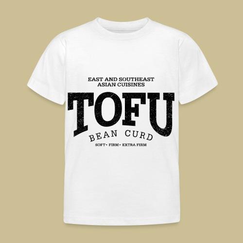Tofu (black oldstyle) - Kinder T-Shirt