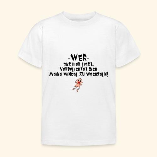 Windel - Kinder T-Shirt