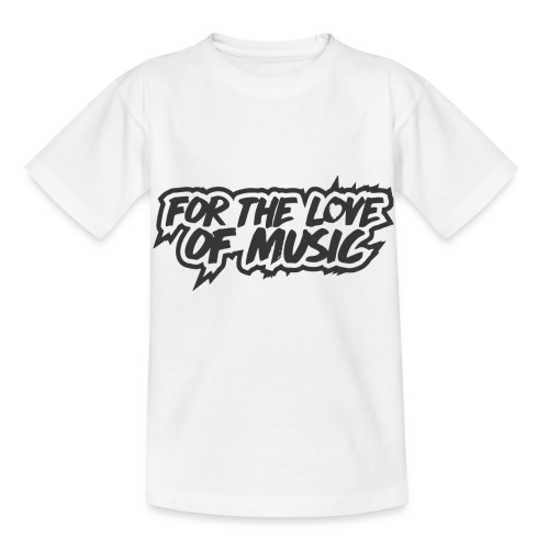 FOR THE LOVE OF MUSIC - Kids' T-Shirt