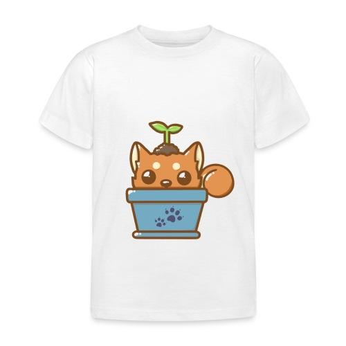 shiba inu timide - T-shirt Enfant