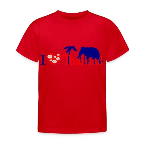I love Thailand - Kids' T-Shirt