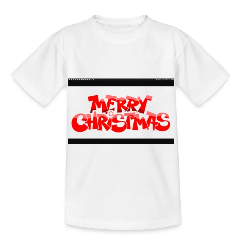 red Christmas top - Kids' T-Shirt