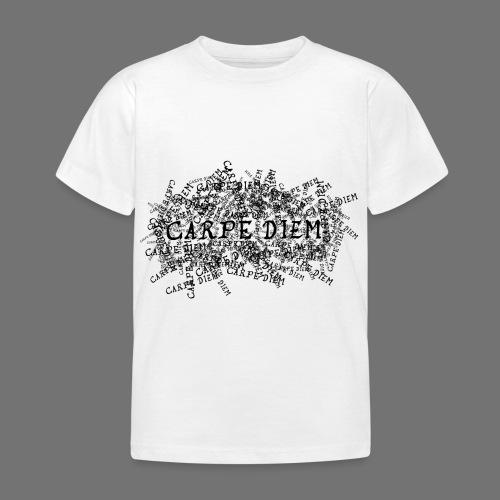 carpe diem (black) - Kids' T-Shirt
