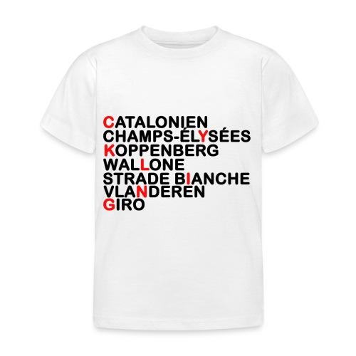 CYKLING - Børne-T-shirt