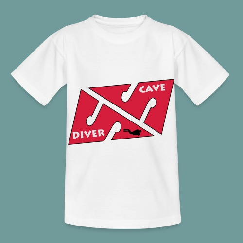 cave_diver_01 - T-shirt Enfant